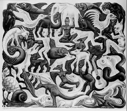 Escher art allo impossible