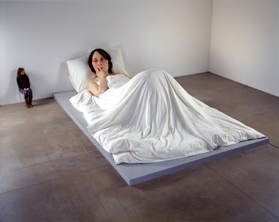 ron mueck bed